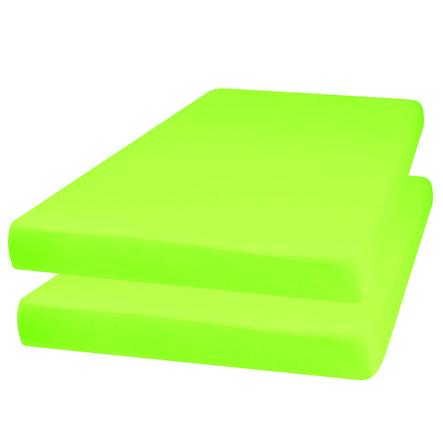 Playshoes Jersey vybavený arch 2-pack zelený