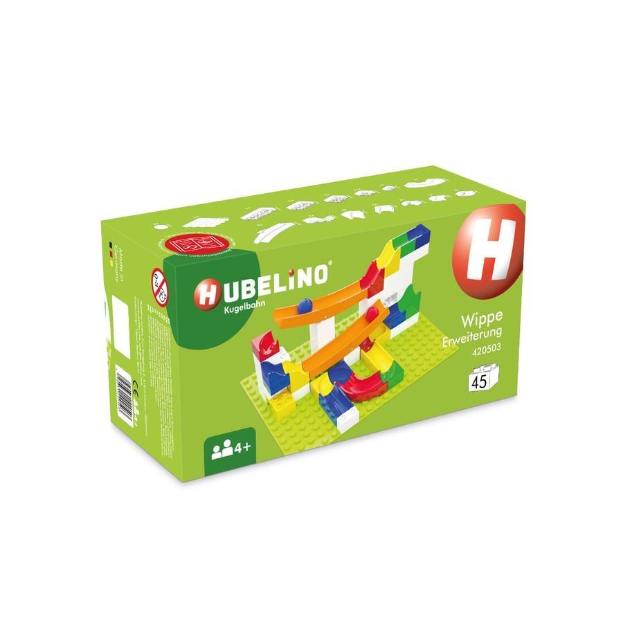HUBELINO® Expansión para pista de bolas, balancín 45 piezas