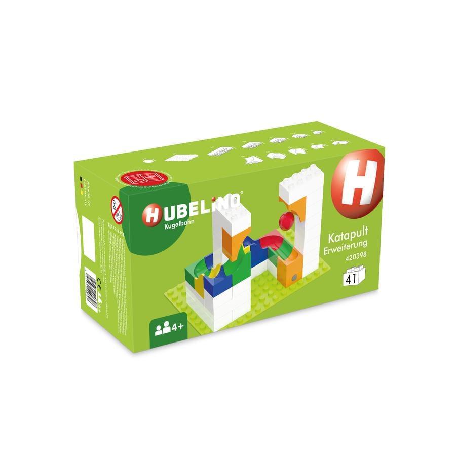 HUBELINO® Circuit à billes catapulte, 41 pièces