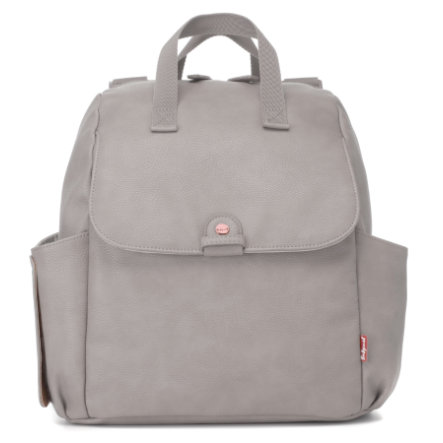 Babymel Luiertas Robyn Convertible Backpack Faux Leather Pale Grey