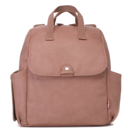 Babymel Wickelrucksack Robyn Convertible Backpack Faux Leather Dusty Pink