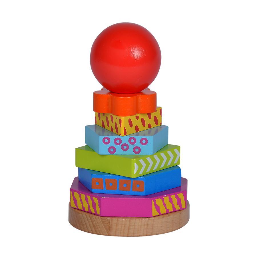 Eichhorn Tour à empiler enfant Color bois