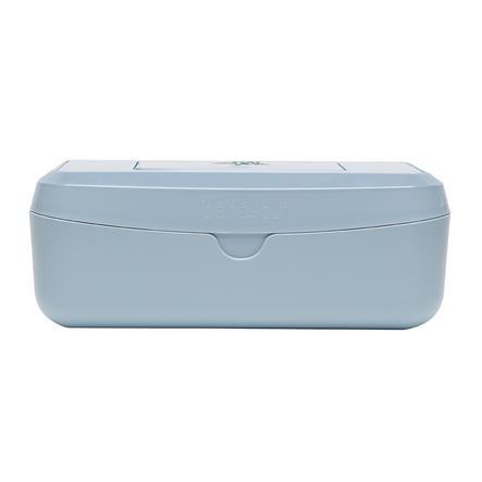 bébé-jou ® Natte doekjesdoos Luipaard Blauw