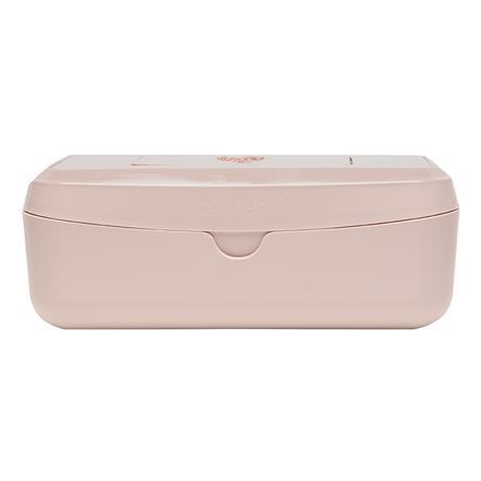 bébé-jou® Feuchttücherbox Leopard Pink