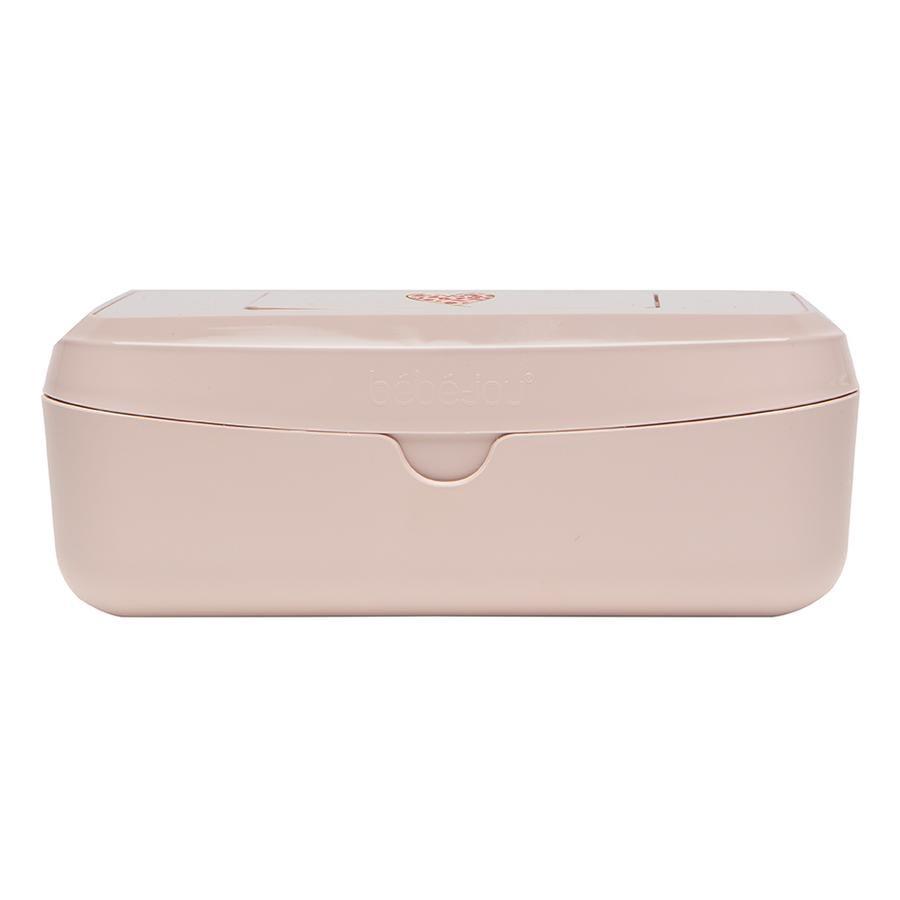 bébé-jou ® Våd aftørringsboks Leopard Pink