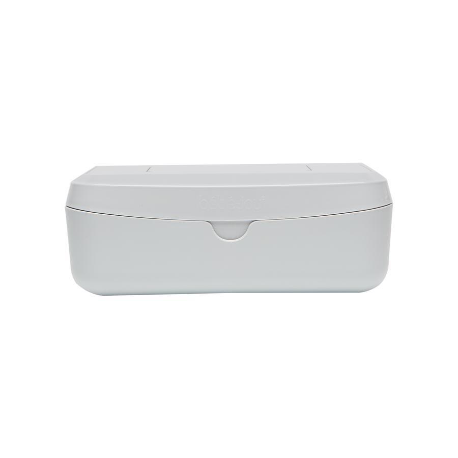 bébé-jou ® Jasnoszare pudełko chusteczek nawilżanych