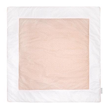 emma & noah Krabbeldecke Punkte Peach 120 x 120 cm