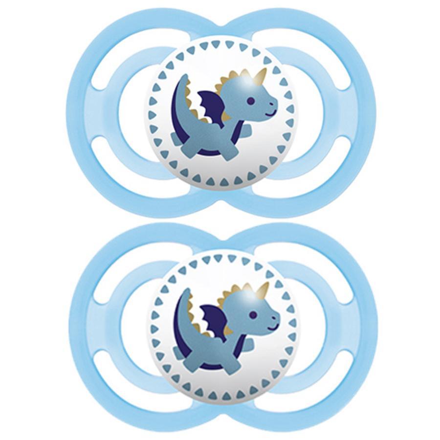 MAM Perfect 1 x Chupete 0m+ Sello azul