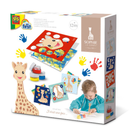 SES Creative® My first - Fingerfarbenkarten kleines Set