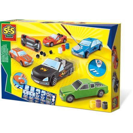 SES Creativ e® Hälla och måla bilar