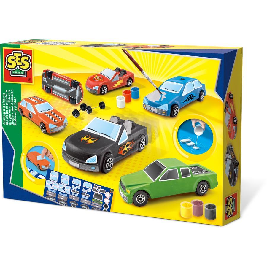 SES Creative® Autos gießen und anmalen
