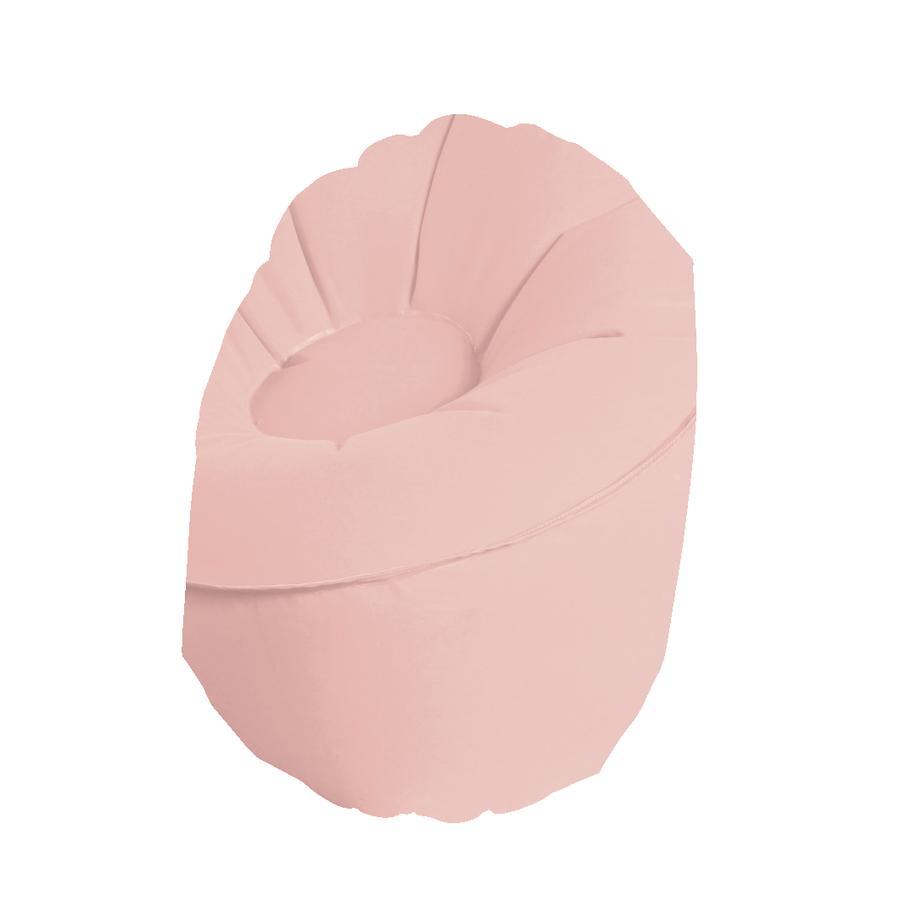 EverEarth® Pouf enfant pastel rose