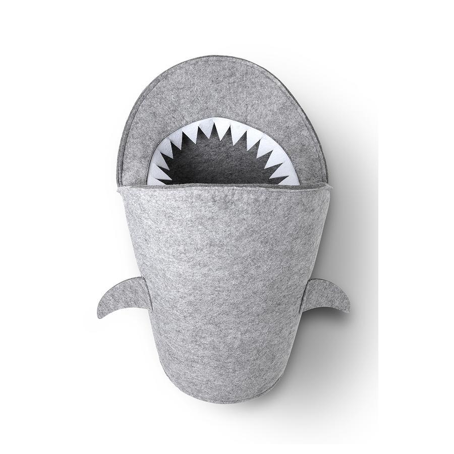 LITTLE Filz Aufbewahrung Sharky