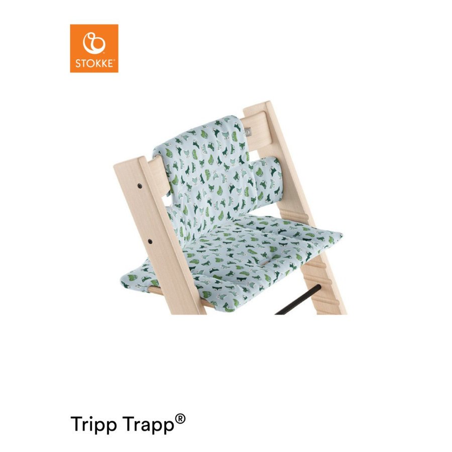 STOKKE® Tripp Trapp® Classic Baby Sitzkissen Blue Fox