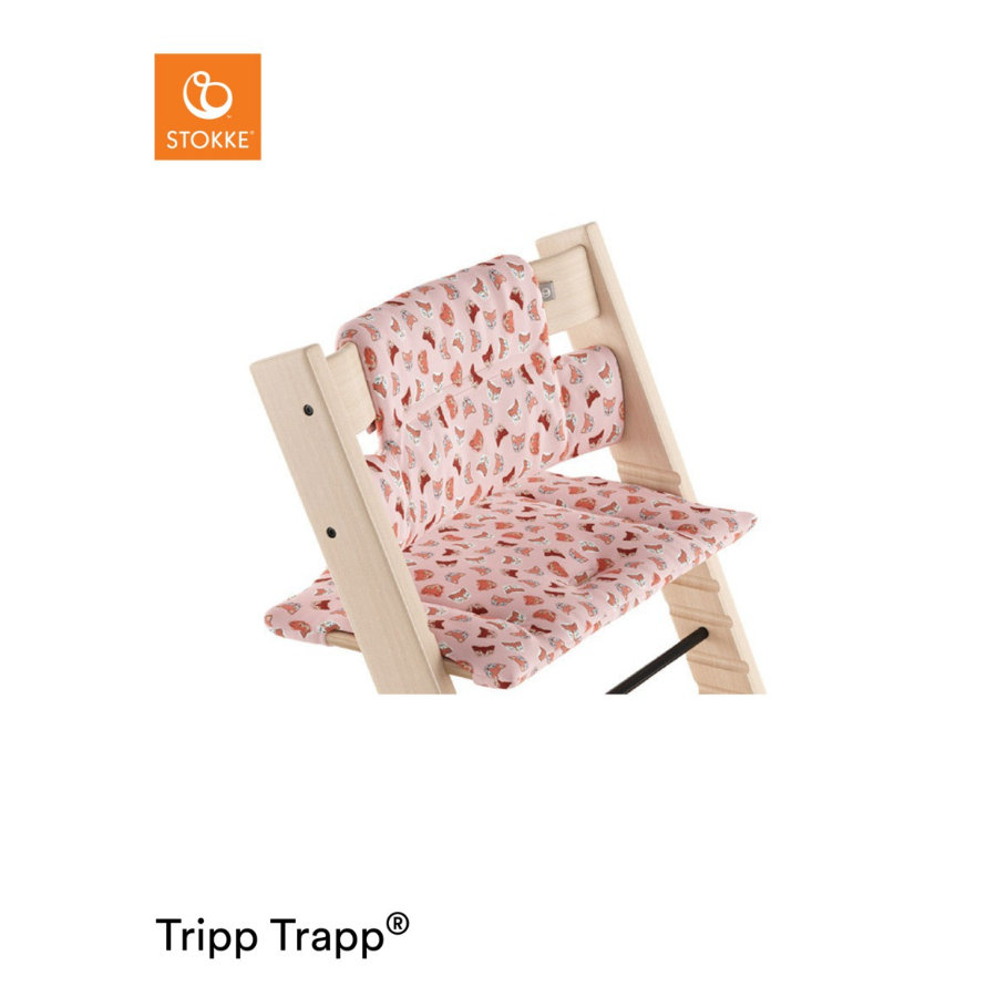 STOKKE® Tripp Trapp® Classic Baby Sitzkissen Pink Fox
