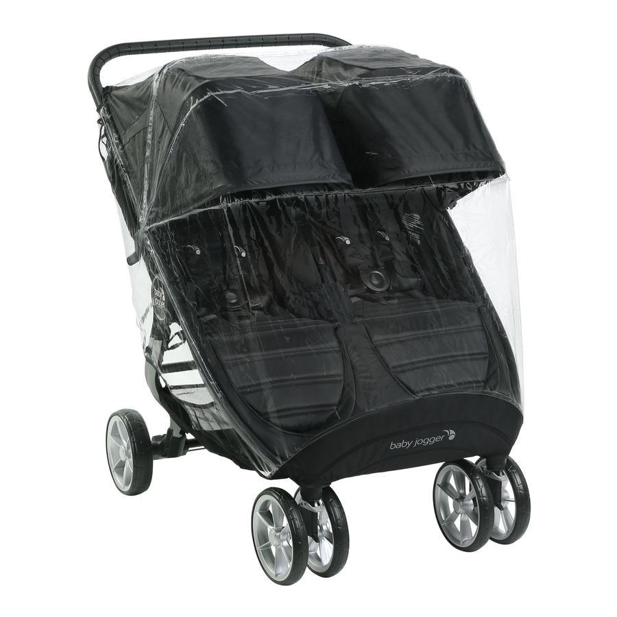 baby jogger Habillage pluie pour poussette double City Mini GT 2