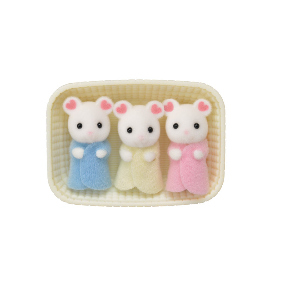 Sylvaniske familier © Marshmallow mus-tripletter