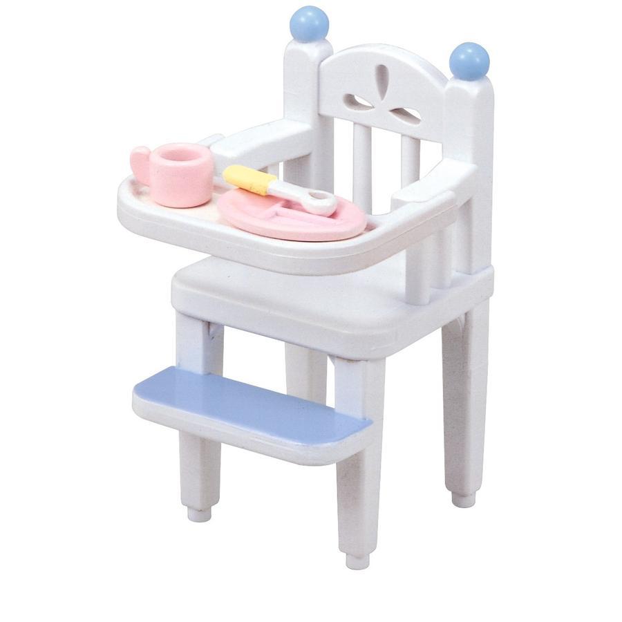 Sylvanian Families Juego de muebles. Silla alta para bebés.