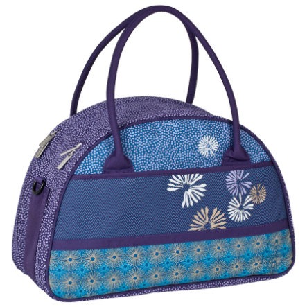 LÄSSIG Přebalovací taška Casual Shoulder Bag dark purple