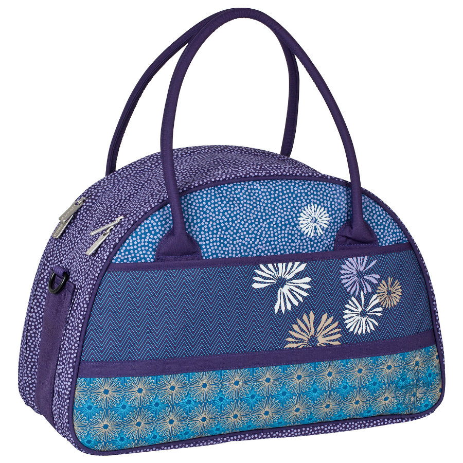 LÄSSIG Torba na akcesoria do przewijania Casual Shoulder Bag Bloom dark purple