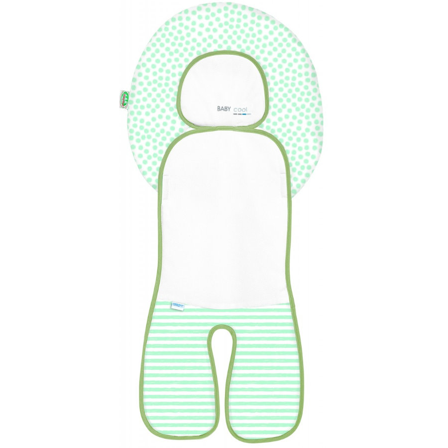 odenwälder Babycool -steun voor autostoel, Stripes Neon Mint