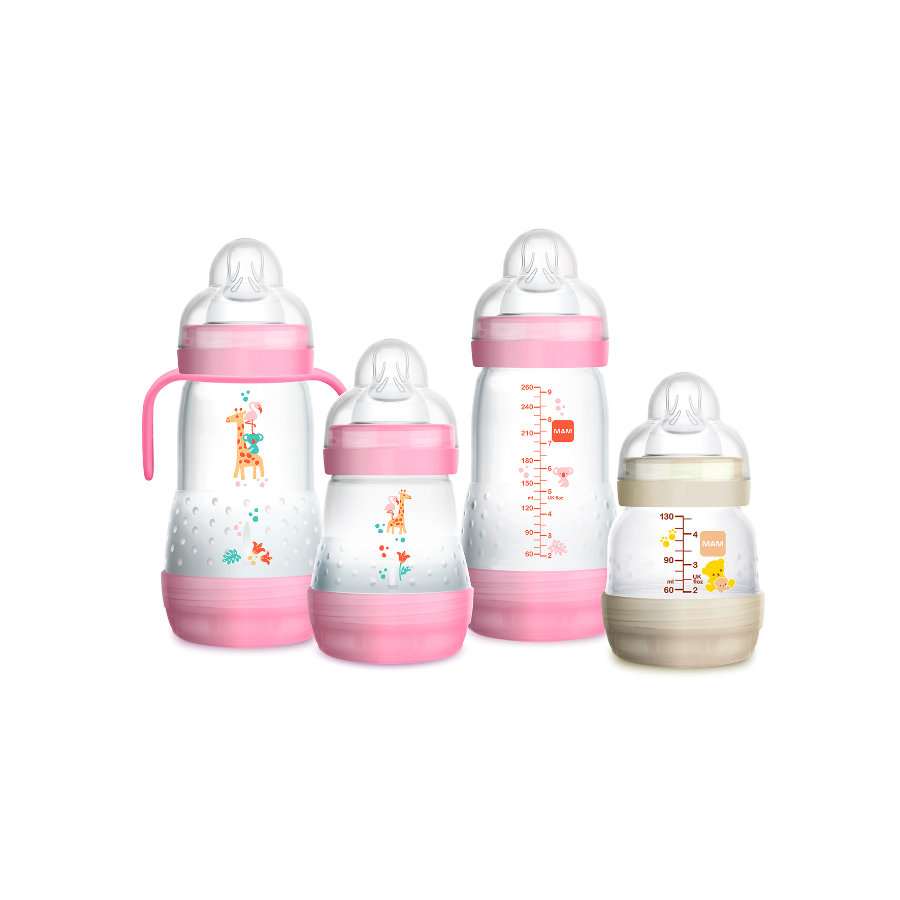 MAM Starterset Easy Start Anti-Colic Set 0+ rosa