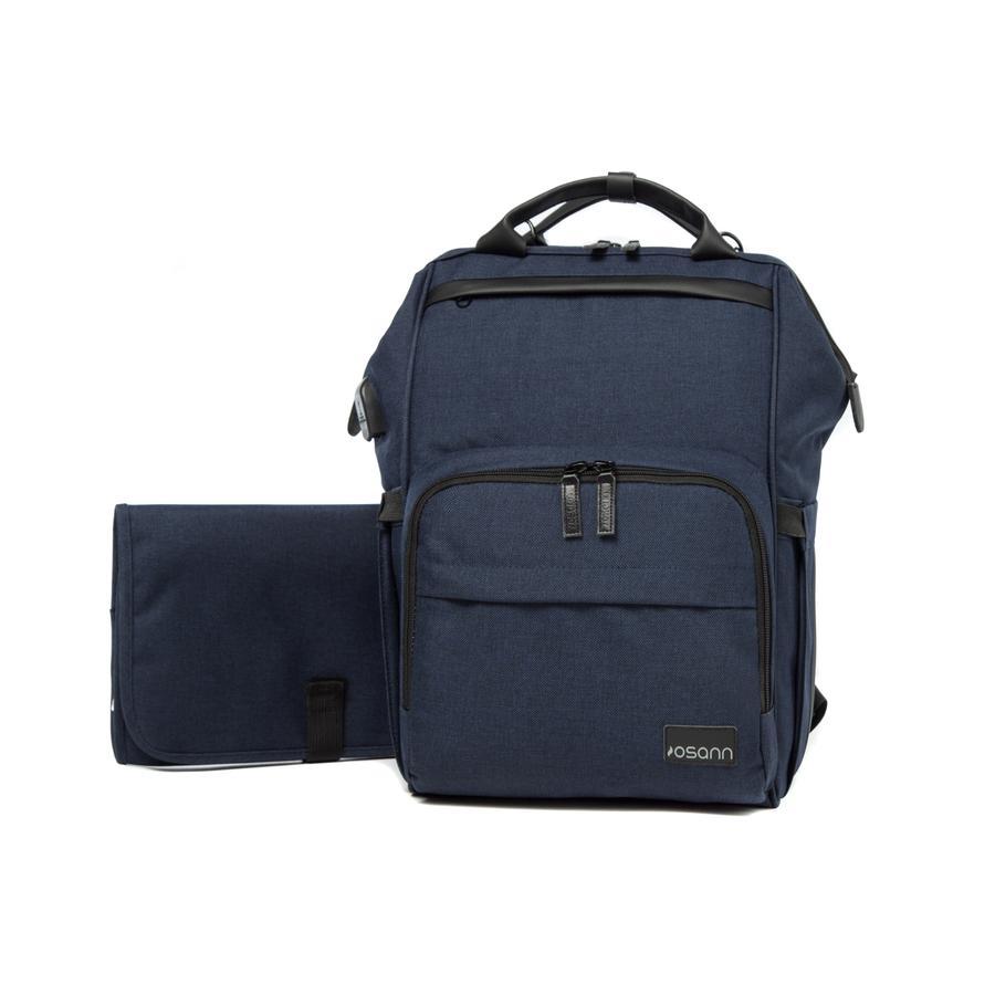 osann Wickelrucksack Backpack Navy Mélange