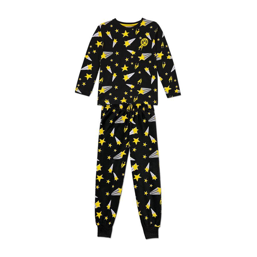 BVB-pyjamas lyser i mörkret