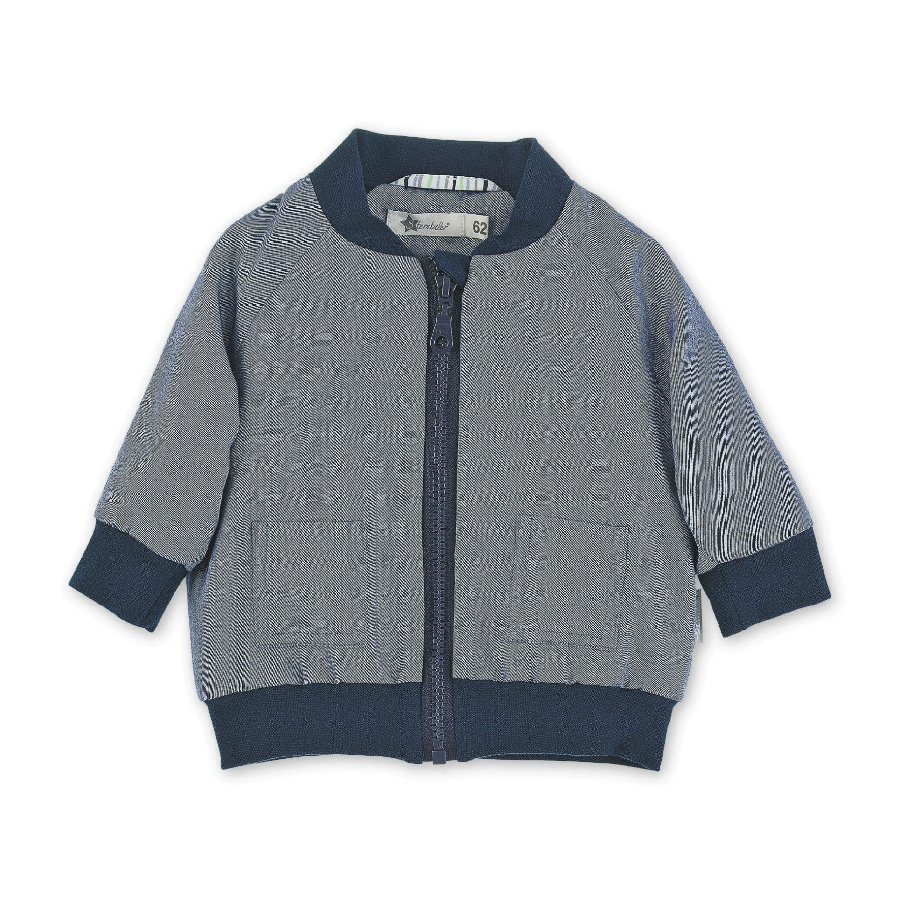 Sterntaler Chaqueta de bebé azul medio