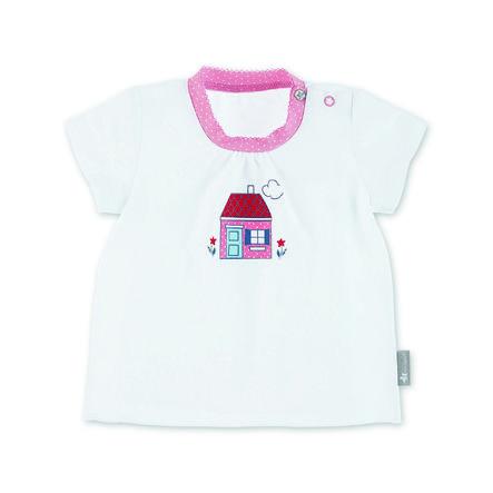 Sterntaler Kurzarm-Shirt Haus weiß