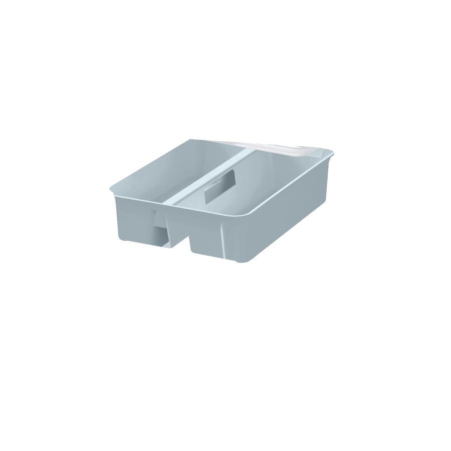 Orthex SmartStore™ Aufbewahrungsbox Classic 15 inkl. Einsatz, pastellblau