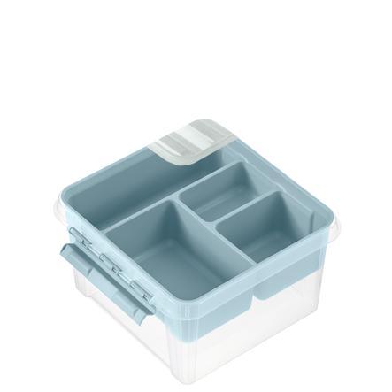 Orthex SmartStore™ Caja de almacenamiento Class ic 12 incl. inserción, azul pastel