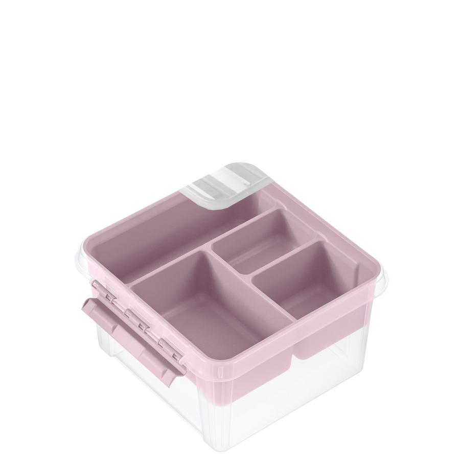 Orthex SmartStore™ Aufbewahrungsbox Classic 12  inkl. Einsatz, pastellrosa