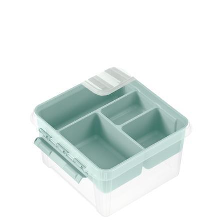 Orthex SmartStore™ Caja de almacenamiento Class ic 12 incl. inserción, verde pastel