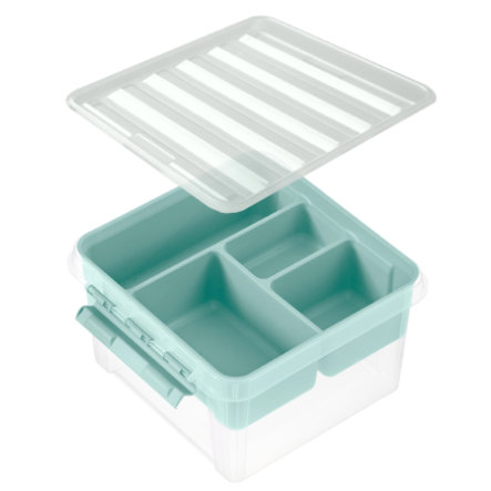 Orthex SmartStore™ Storage box Class ic 12 incl. inserto, verde pastello