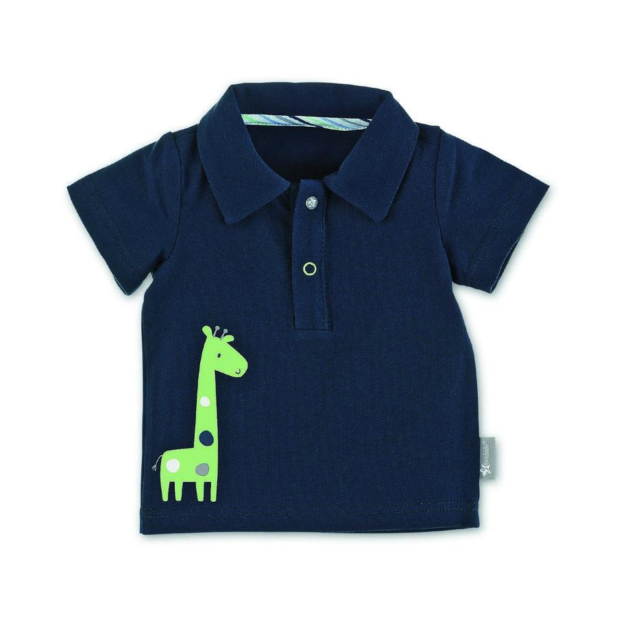 Sterntaler Polo-Shirt Giraffe marine