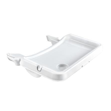 hauck Tablette pour chaise haute bébé Alpha Tray, blanc