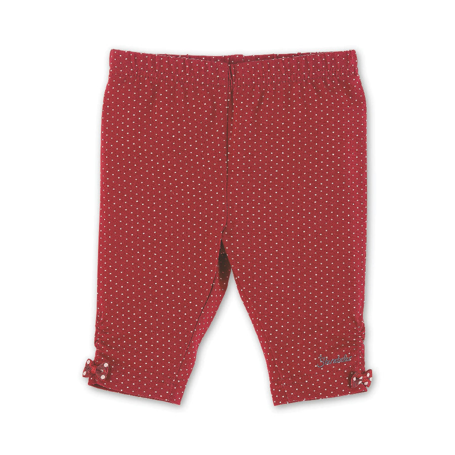 Sterntaler 7/8-Pantalones rojos