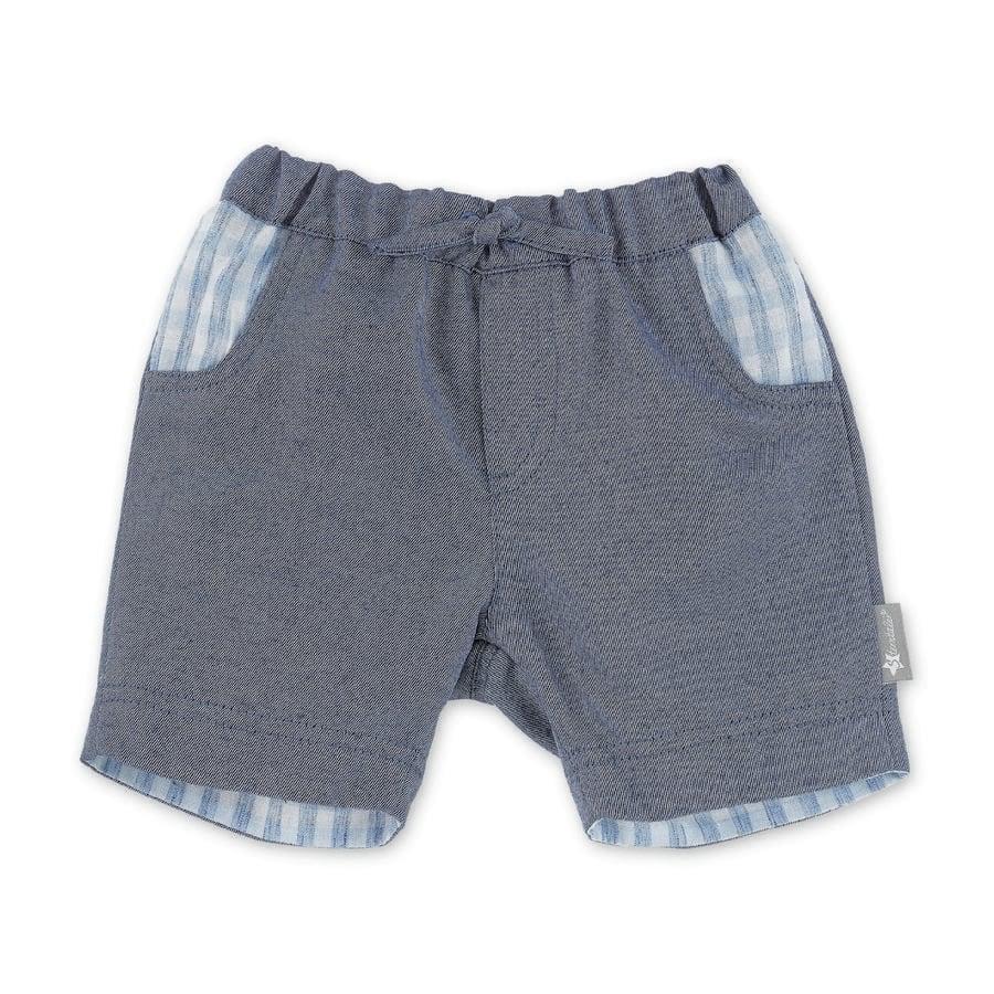 Sterntaler Spodnie krótkie średnioniebieskie