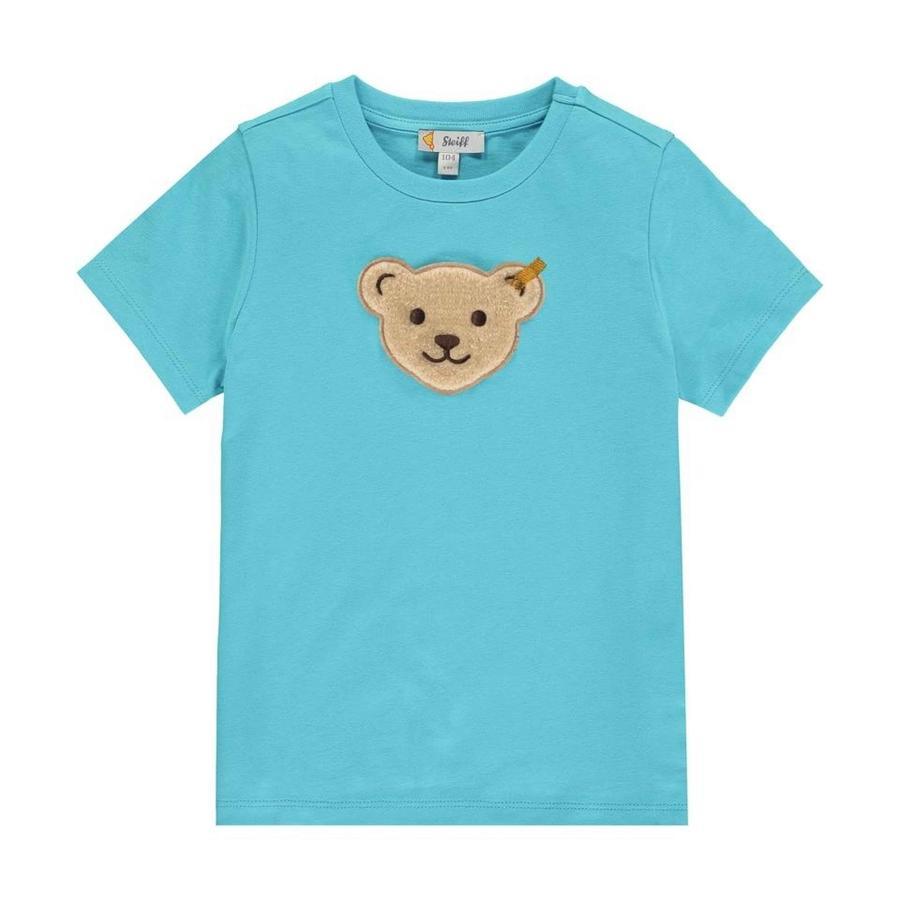 Steiff T-shirt, blå atoll
