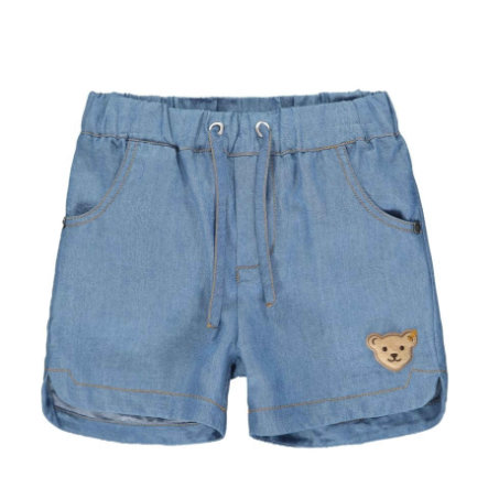 Steiff jeans shorts , kolonie blauw