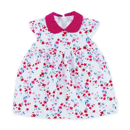 Sterntaler Vestido de bebé blanco