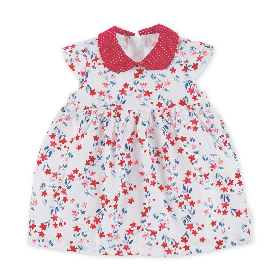 Sterntaler Baby-Kleid weiß stars