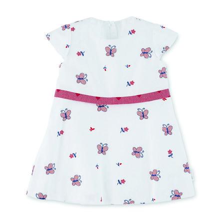 Sterntaler Baby-Kleid weiß