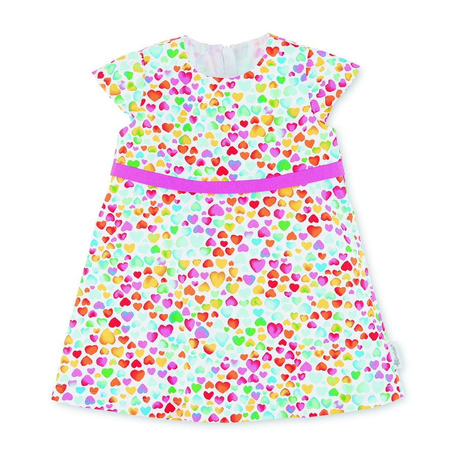 Sterntaler Babyklänning vit