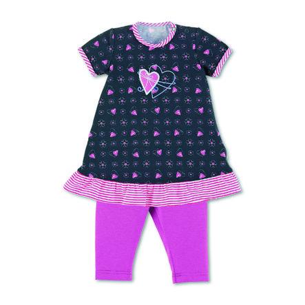 Sterntaler Babyklänning med leggings marin