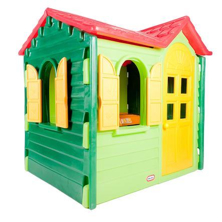 little tikes Spielhaus Country grün