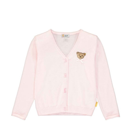 Steiff Cardigan knapt rosa