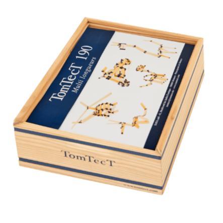 KAPLA Byggstenar - TomTecT 190 låda