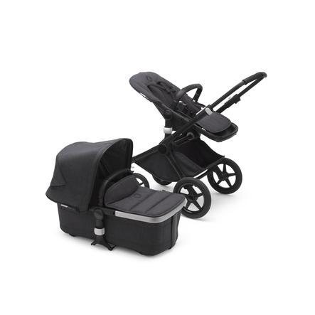 bugaboo Wózek dziecięcy Fox 2 Complete Mineral Black / Washed Black